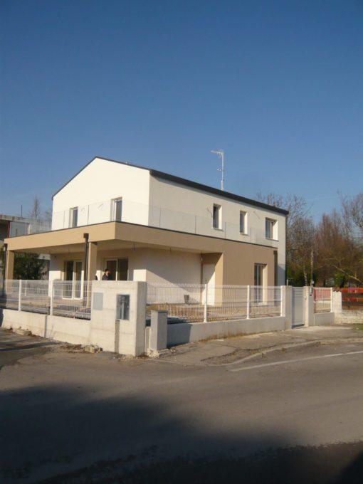 Costruzione con metodo casa clima a Tencarola (PD)